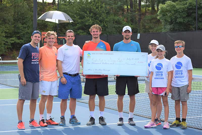 Kyle Koch & Sergey Belov — Credo Tennis Doubles Winners
